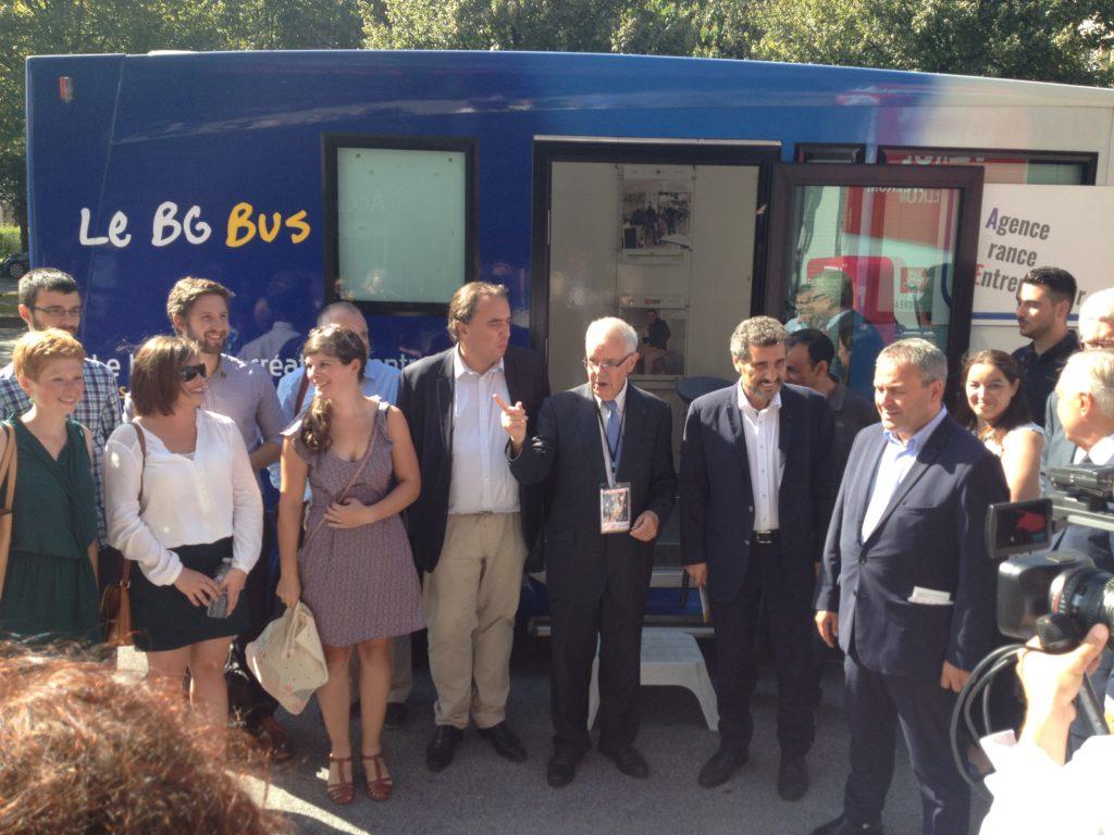 Le bus de la création d'entreprise et Mohed Altrad