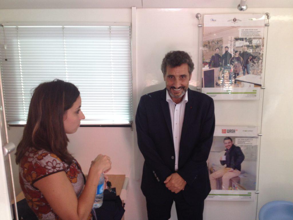 Sandrine Pereira et Mohed Altrad