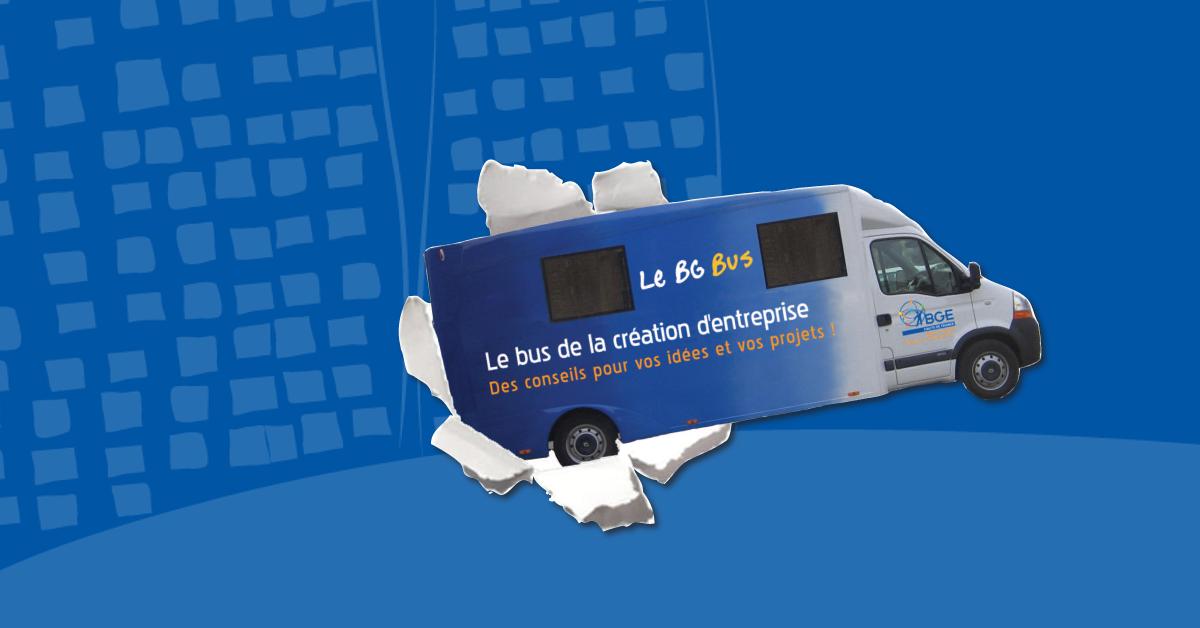 Le bus de la création d'entreprise à Roubaix