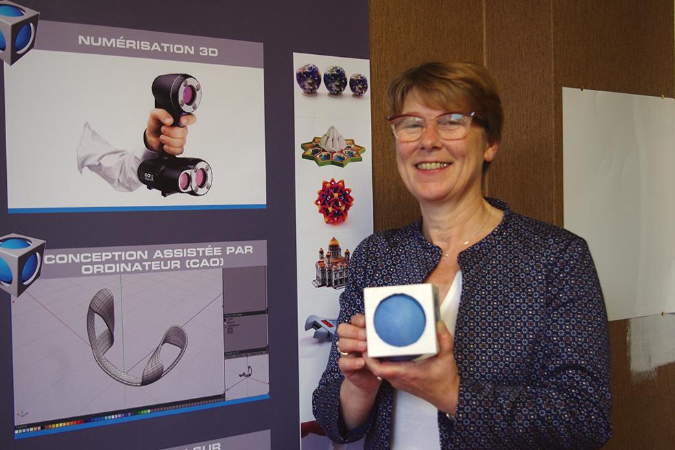 Christiane Suret a créé Perspectives après un test en couveuse d'entreprise