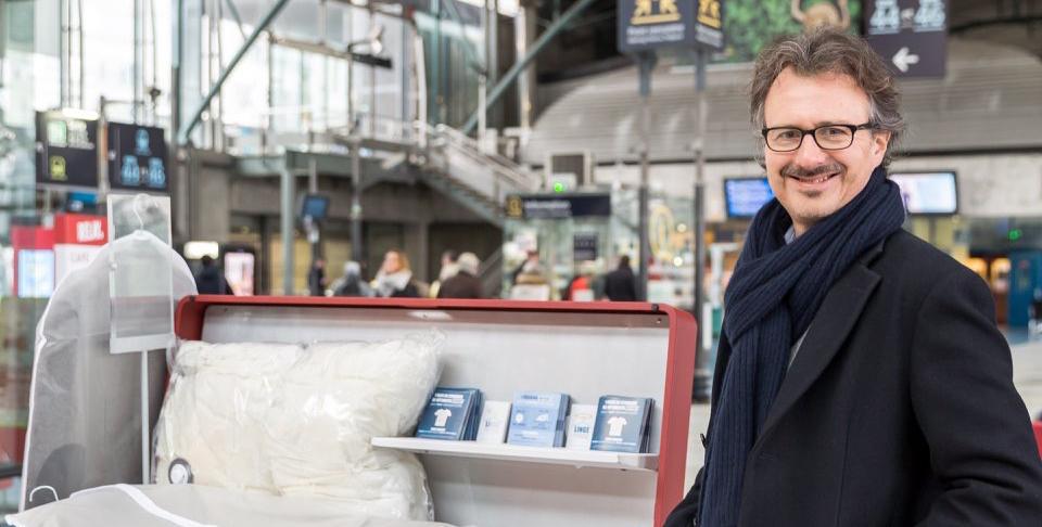 Vincent Hurdebourcq a testé son activité de pressing grâce à la couveuse d'entreprise