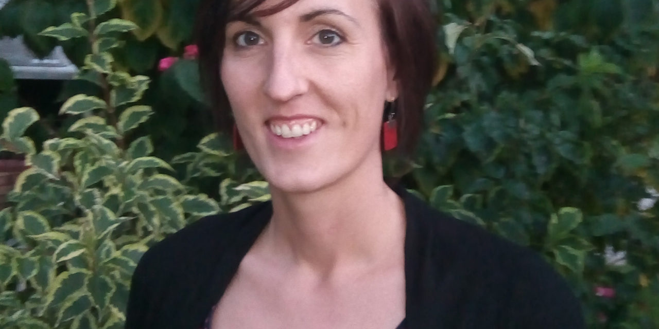 Karine Haudrechy a testé son activité de paysagiste avec l'aide de la couveuse d'entreprise