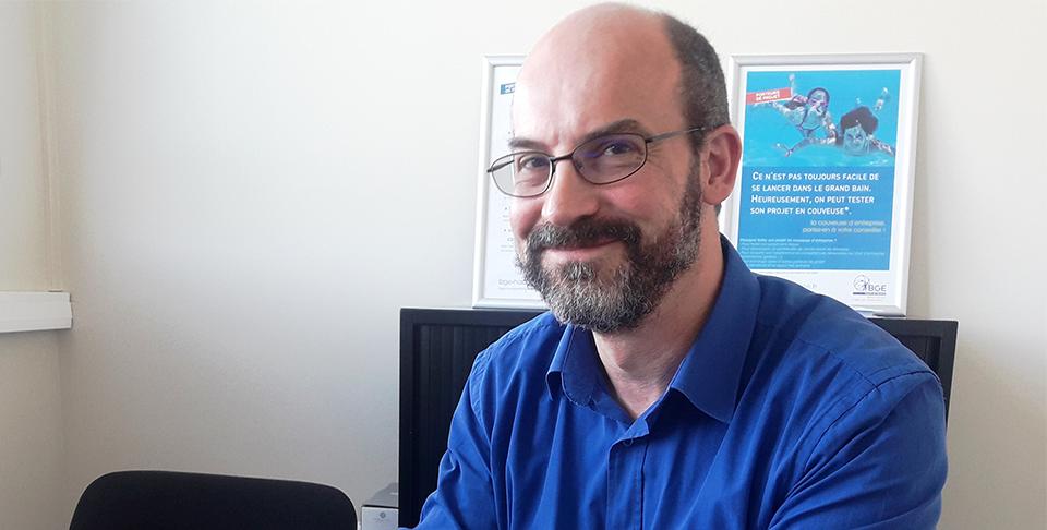 Régis Hégo a créé BeetleChoice Solutions avec l'aide de la couveuse numérique