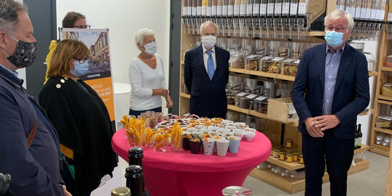 A Mons-en-Baroeul, Hello Bocaux a bénéficié d'un dispositif visant à redynamiser le commerce en ville : Mon Commerc'En Test